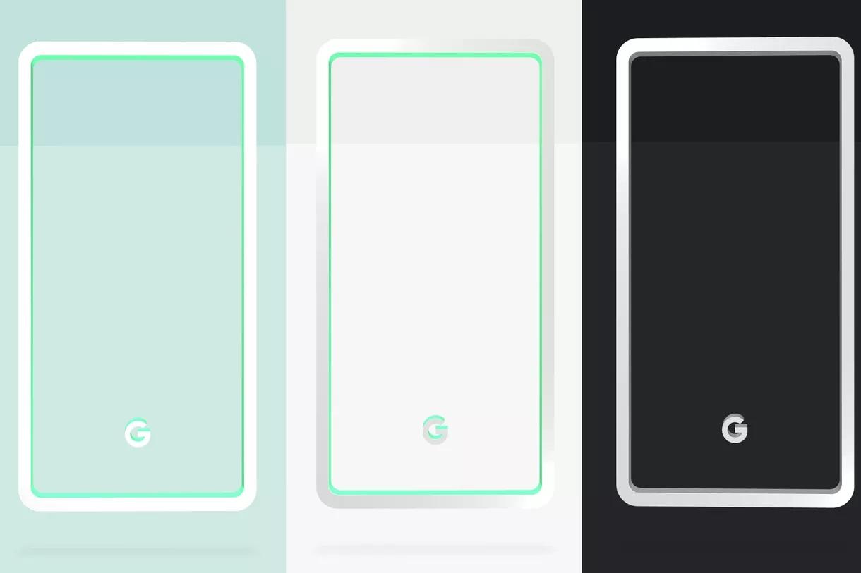 Google avslører Pixel 3-fargene.
