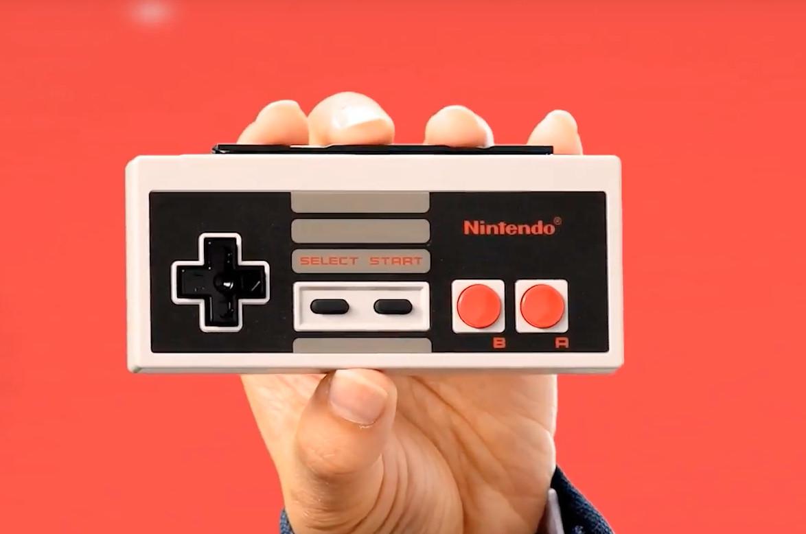 Nintendo Switch får NES-kontrollere - fungerer kun med spesifikke spill.