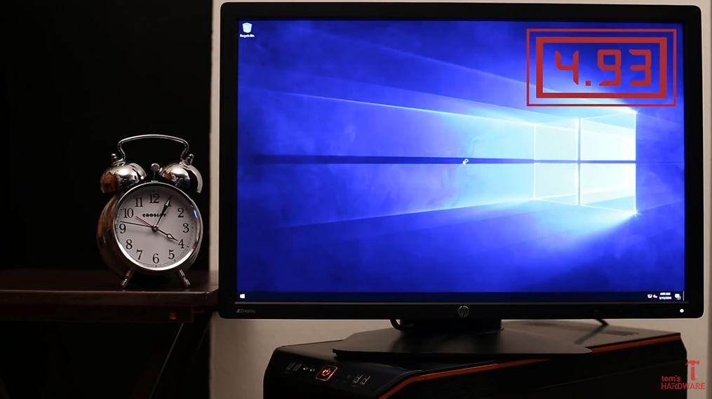 Denne Windows 10-PC-en har superrask oppstartstid.