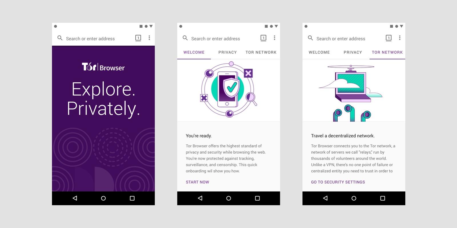 Tor Browser lover sikker og sporingsfri surfing på Android.