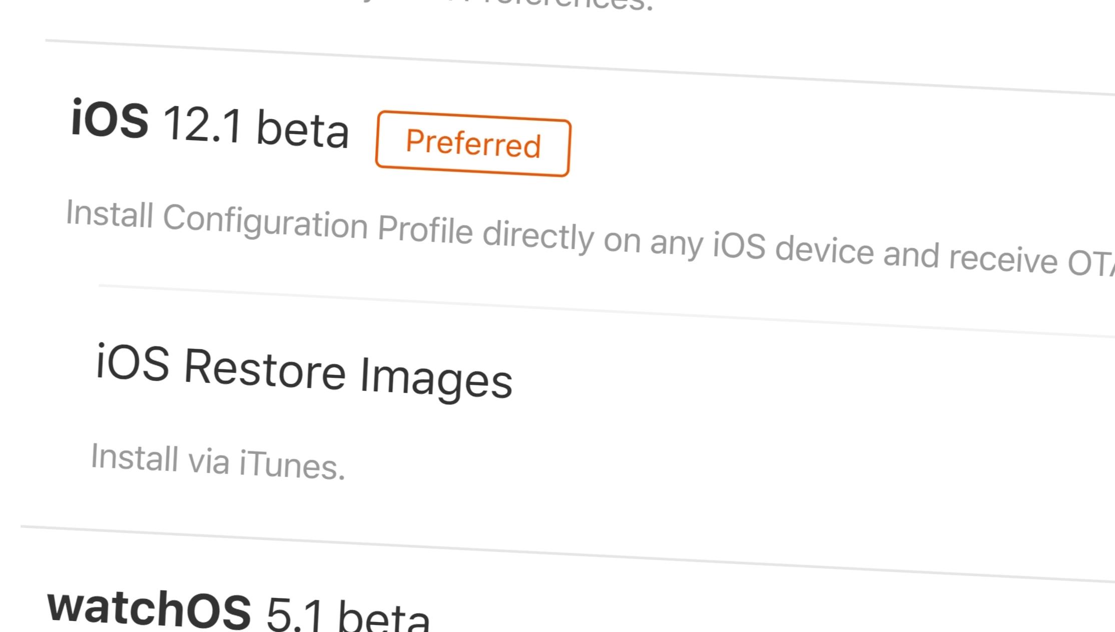 iOS 12.1 er lansert utviklere