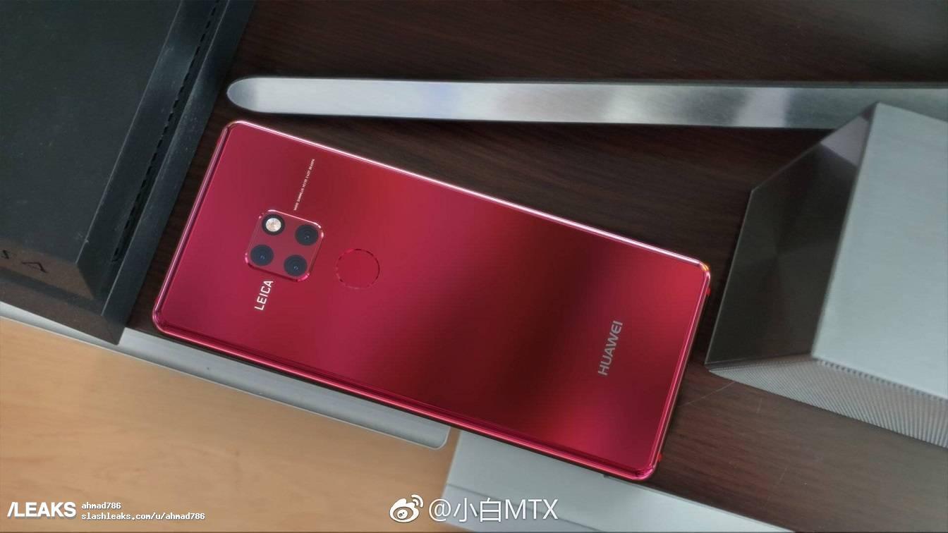 Her er Huawei Mate Pro med det unike trippelkameraet.