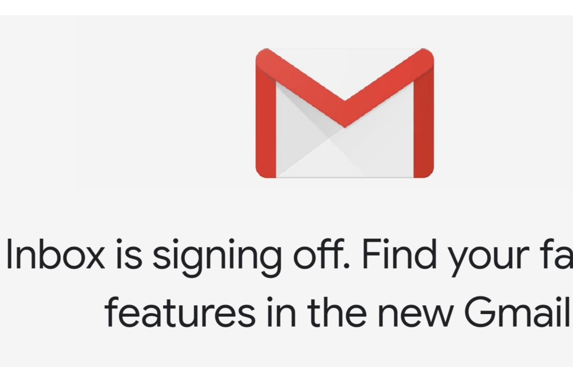 Google legger ned Inbox