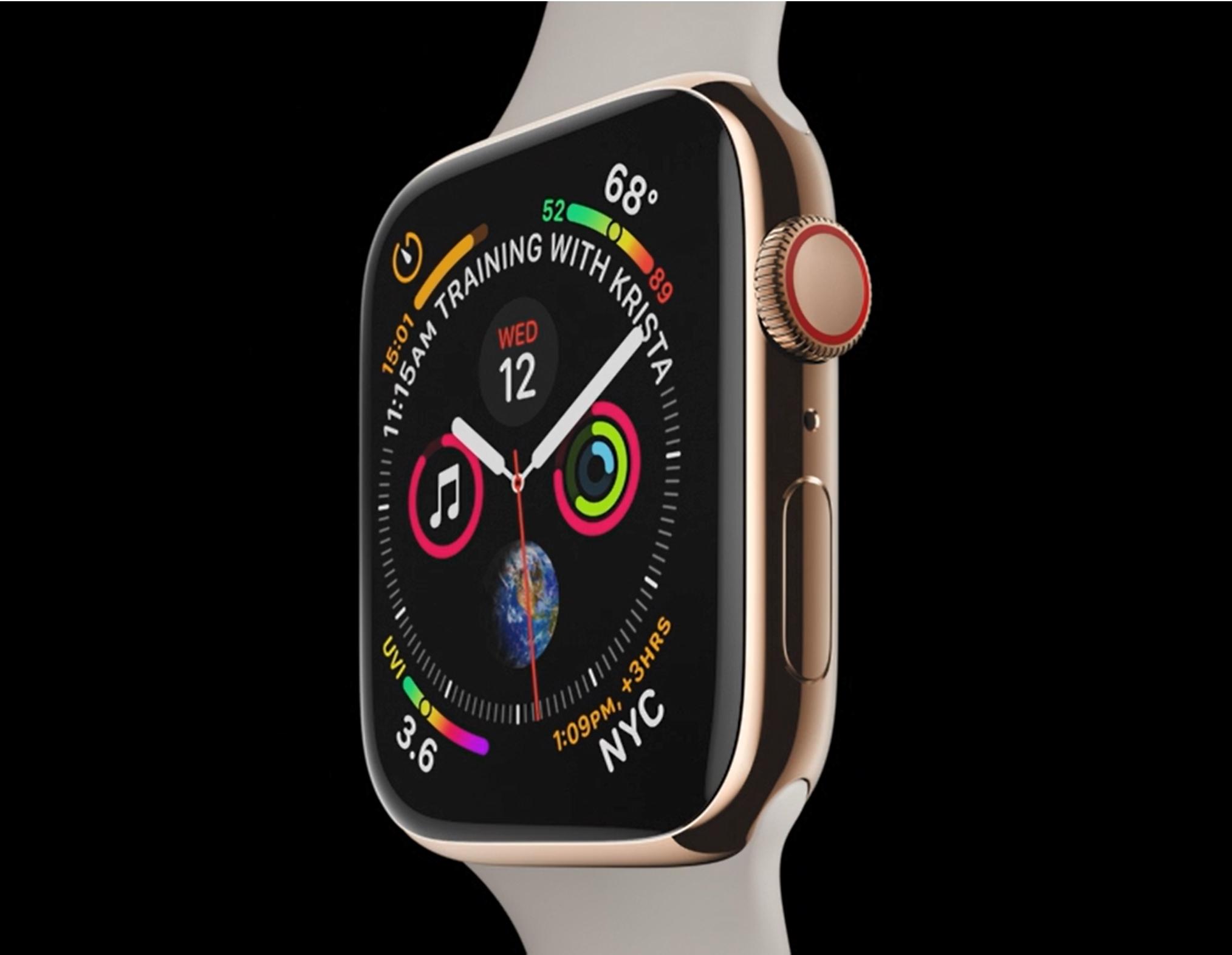 Dette er alt du må vite om Apple Watch Series 4 inkludert norske priser
