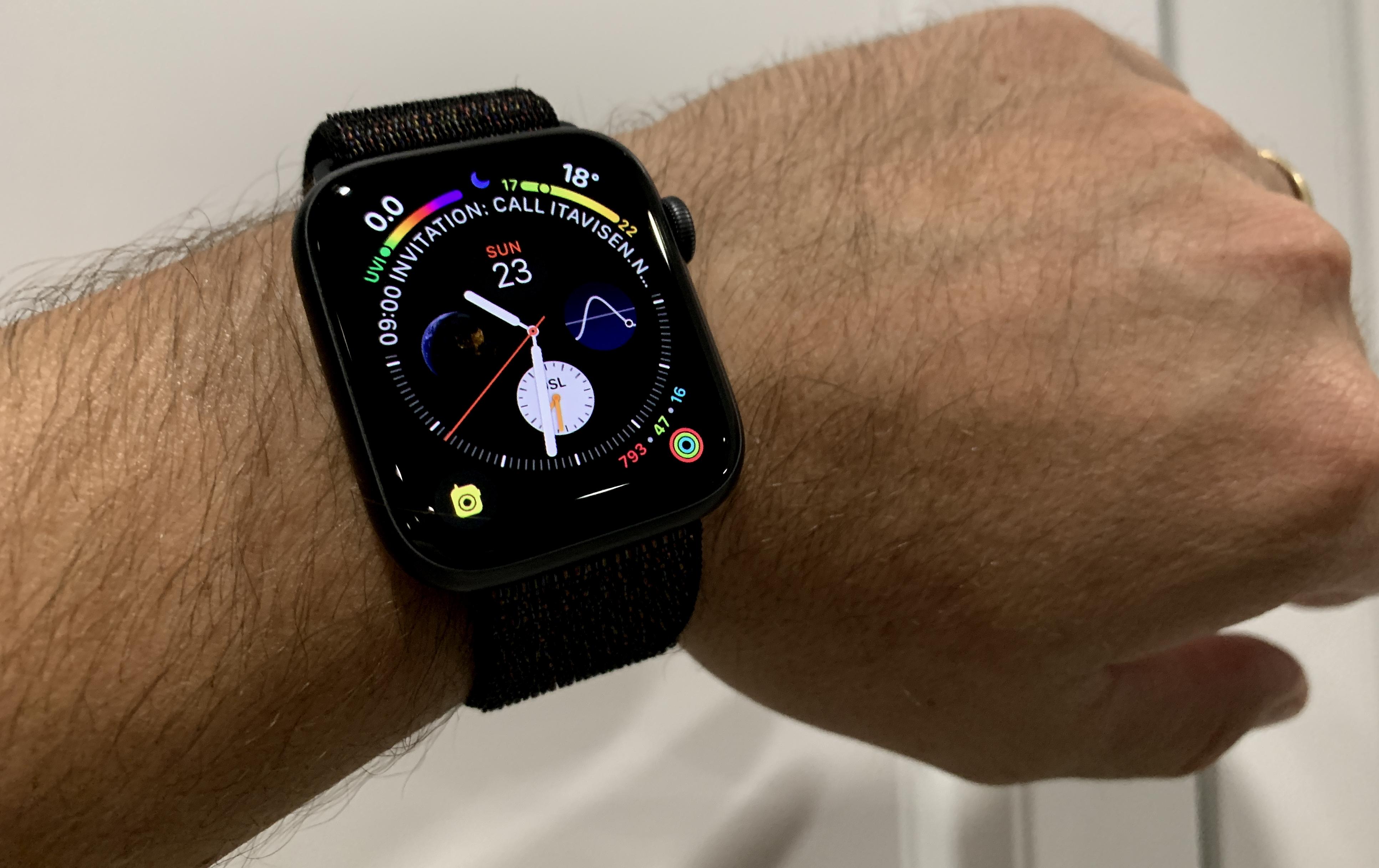 SNIKTITT: Apple Watch Series 4 LTE