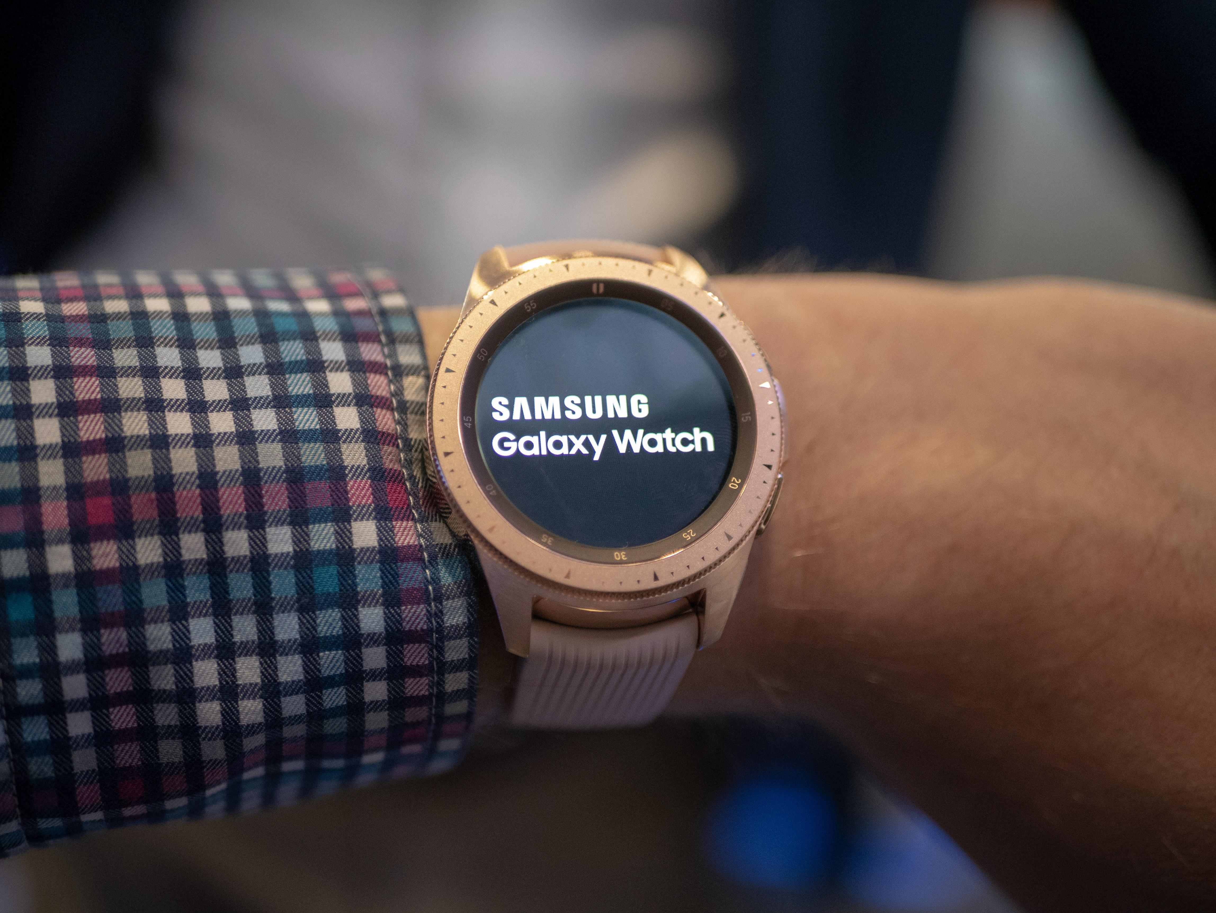 TEST: Galaxy Watch.