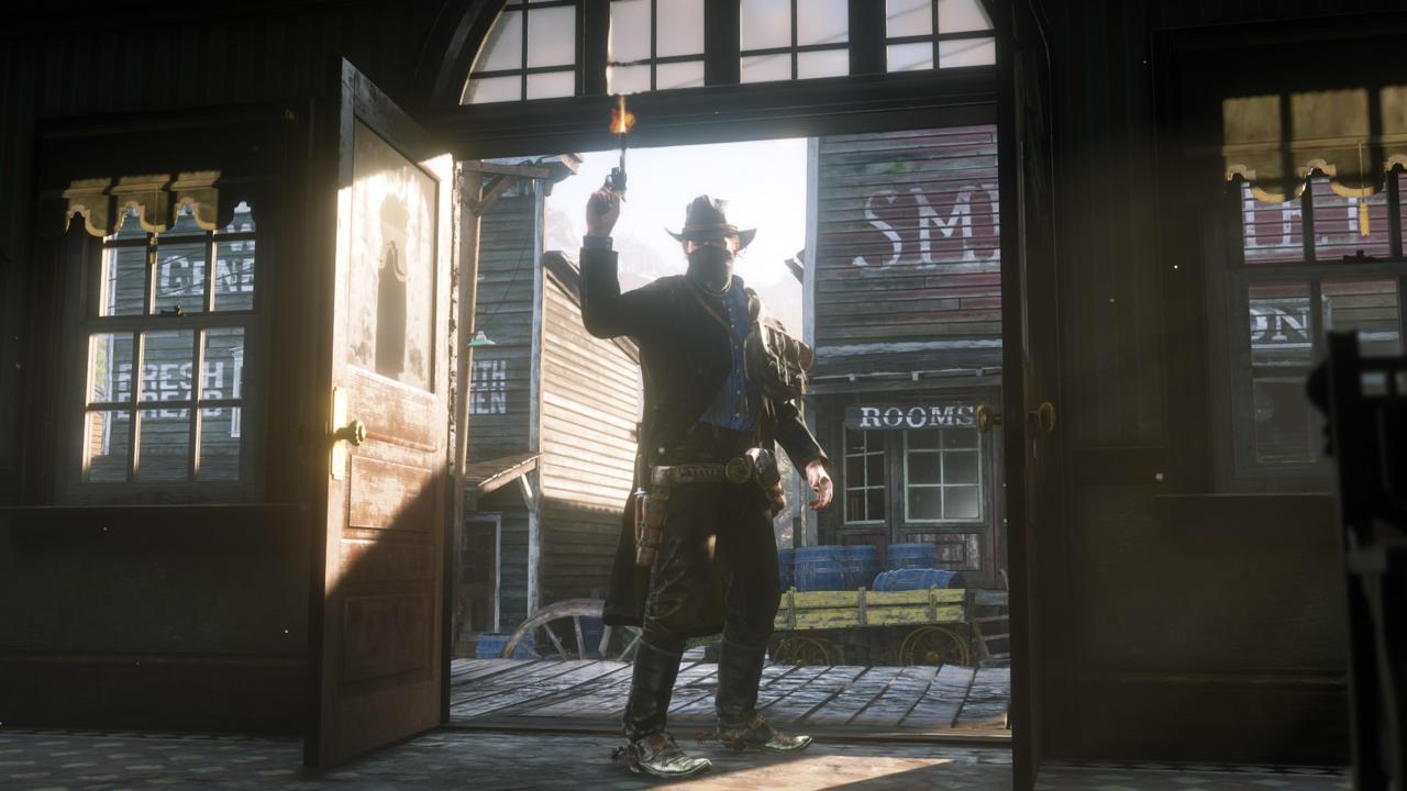 """""""Red Dead Redemption 2"""" kjører i ekte 4K på Xbox One X."""