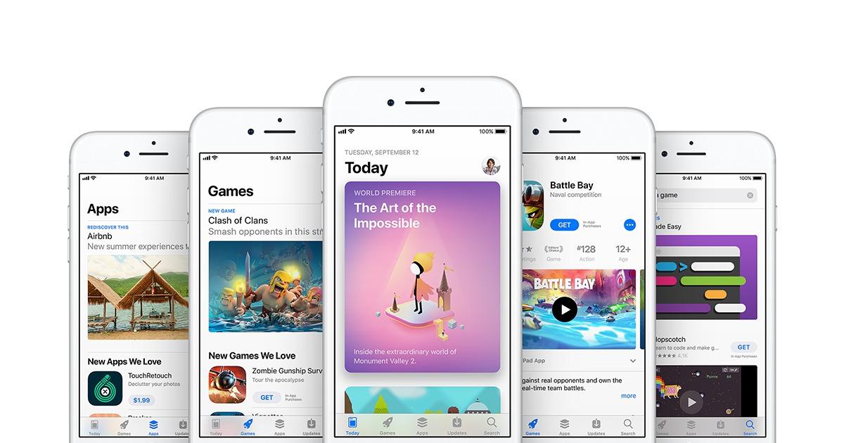 App Store knuser Play Store.