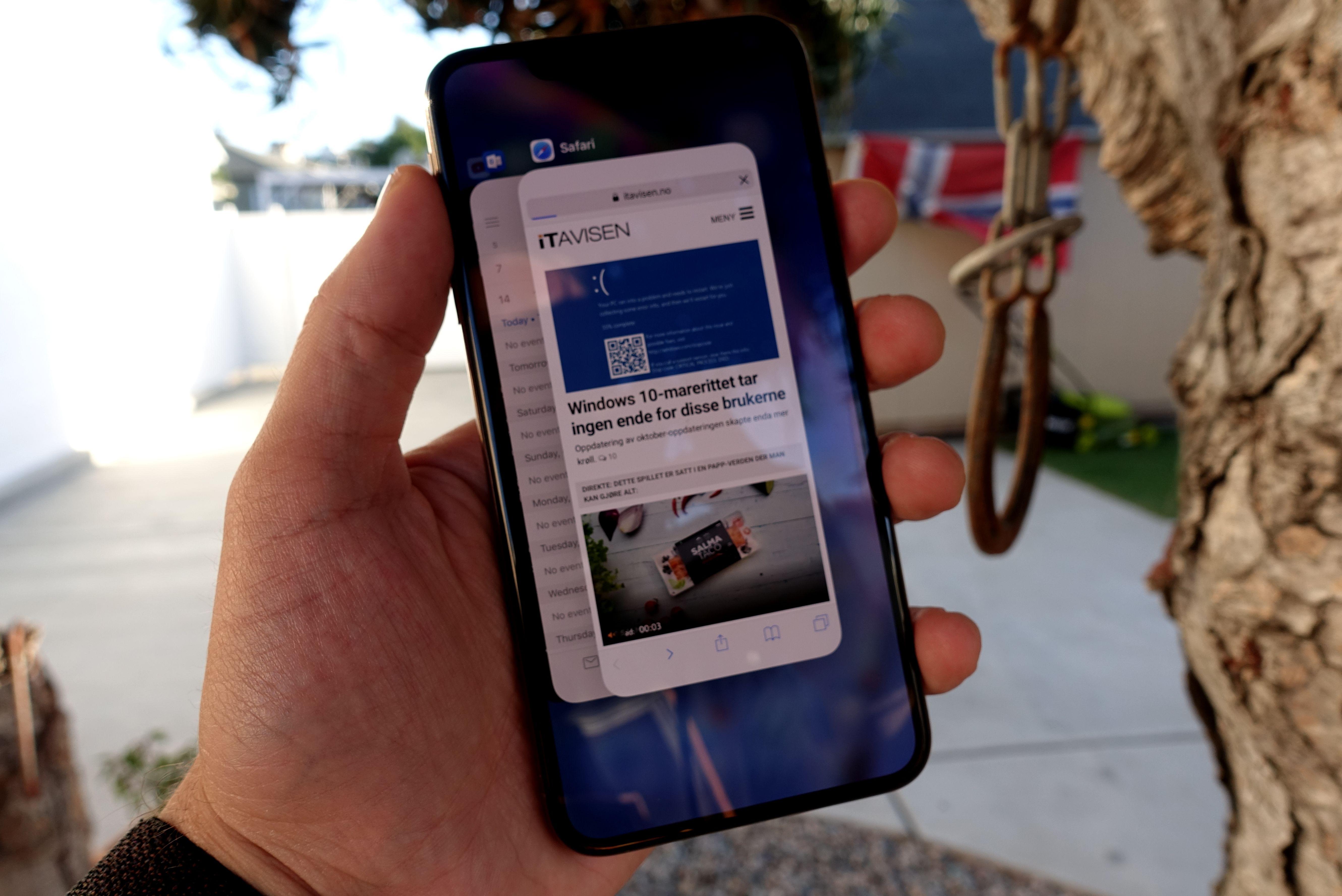 iPhone Xs Max knust av hovedkonkurrent i batteritest