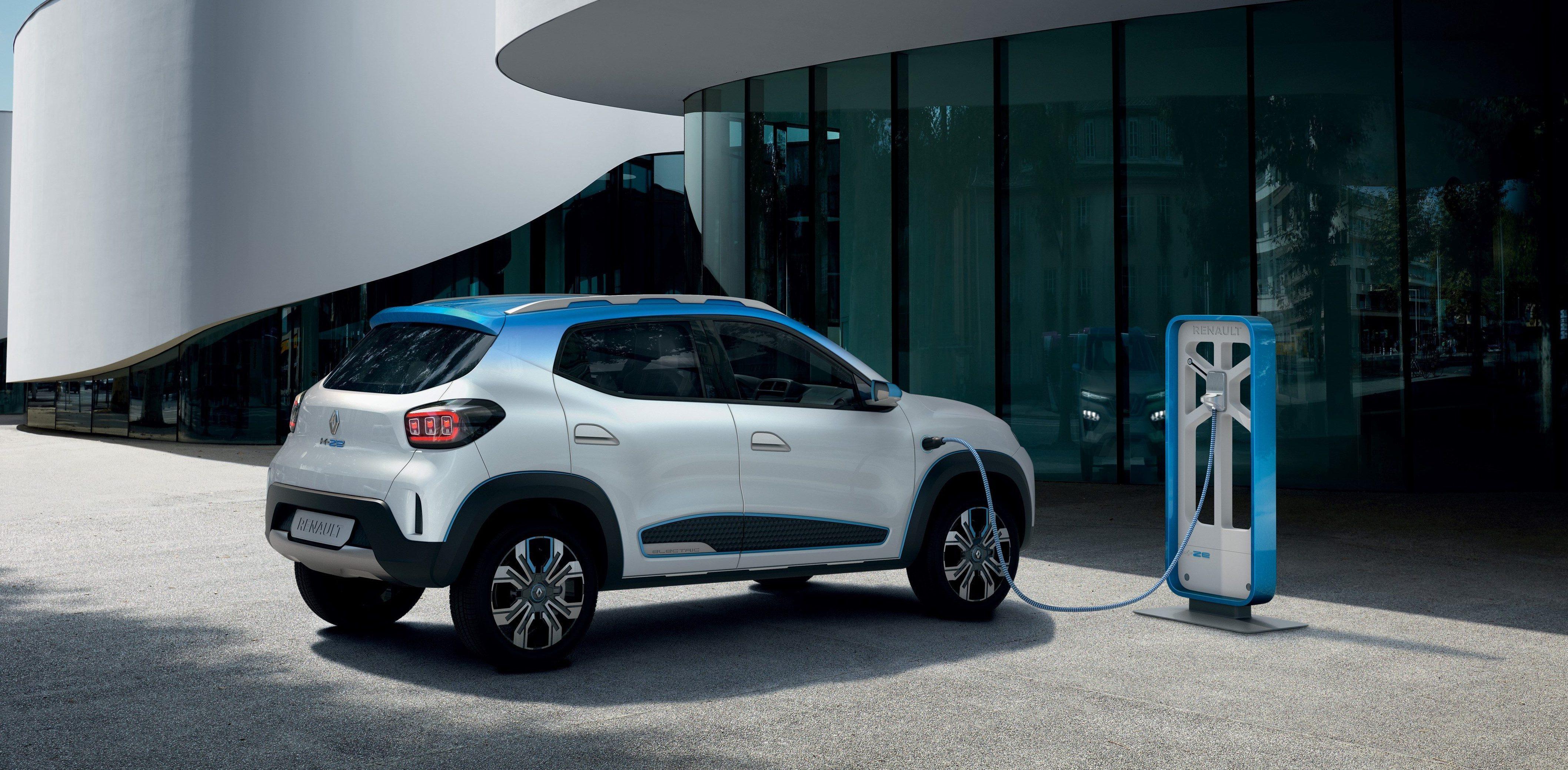 "Renault viser frem den ""rimelige"" elbilen K-ZE."