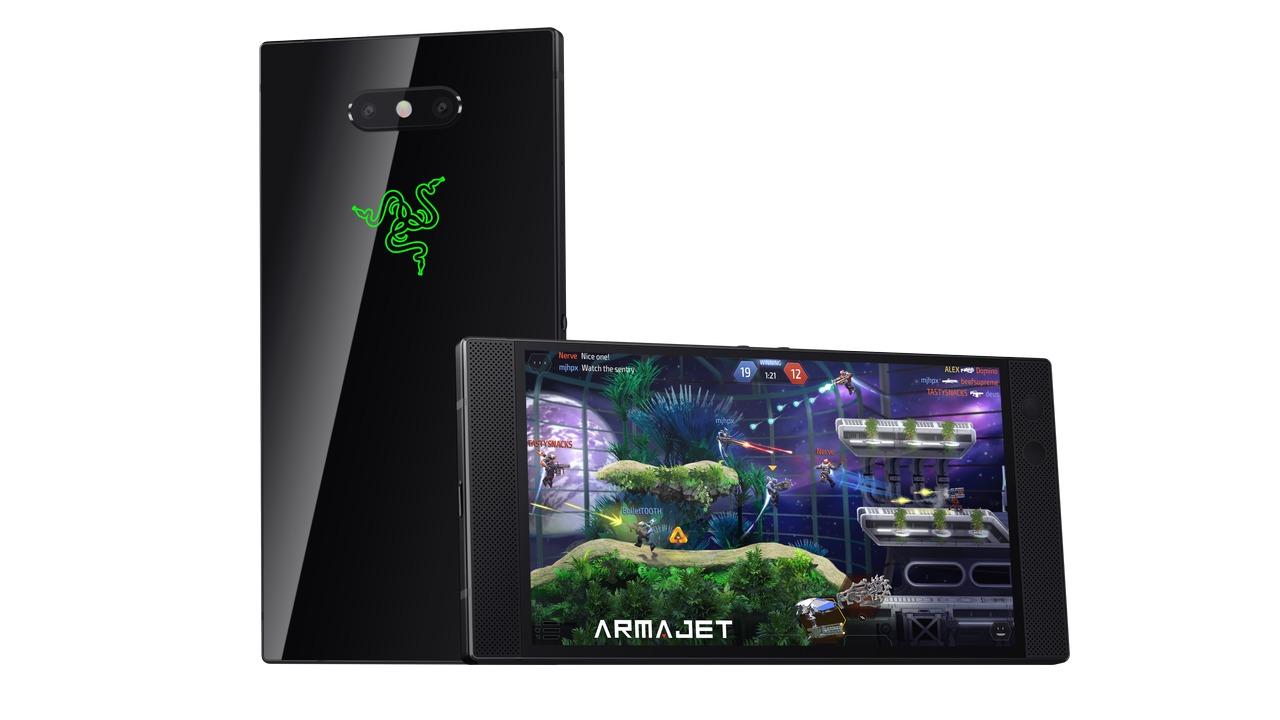 Her er Razer Phone 2 med 120 Hz-skjerm.