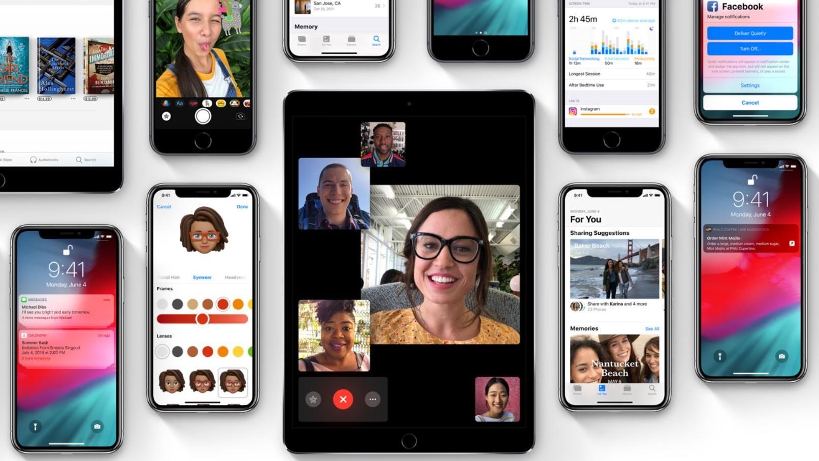 iOS 12 er allerede større enn iOS 11.