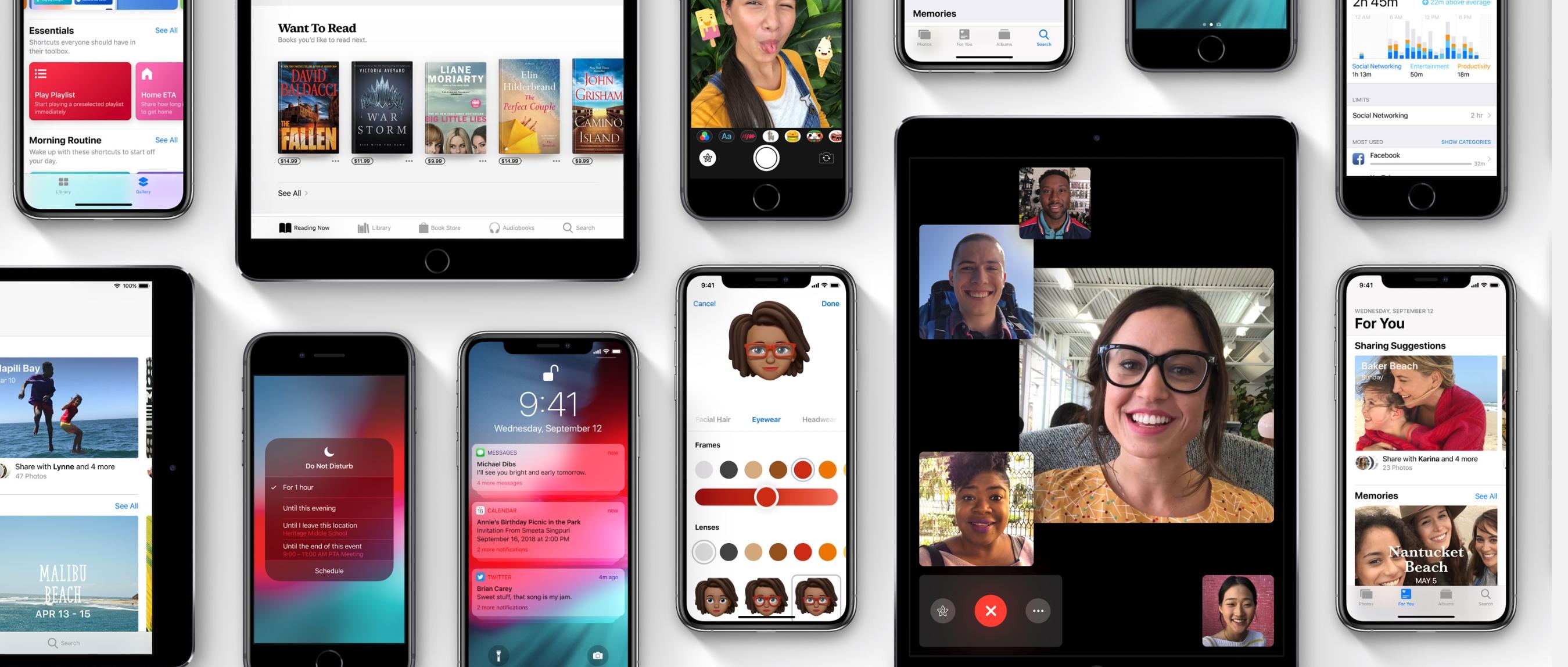 Snart kan du laste ned iOS 12.1 - dette er nytt