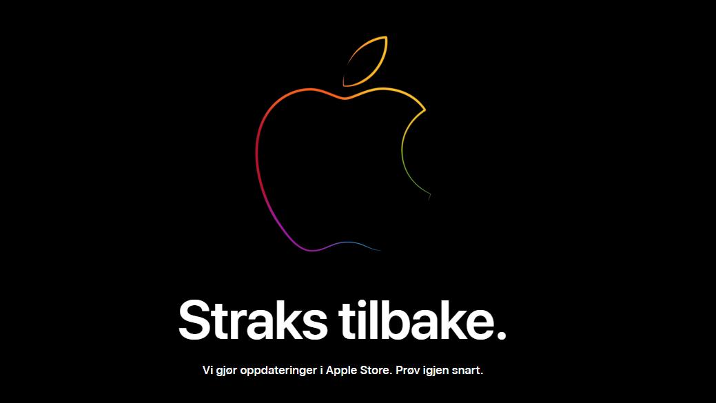 Apple Store er som forventet tatt ned i påvente av nye produkter - dette tror vi kommer!