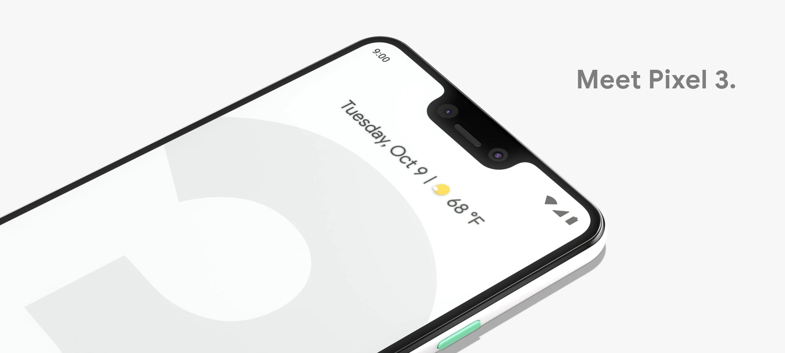 Pixel 3 får en ny funksjon.