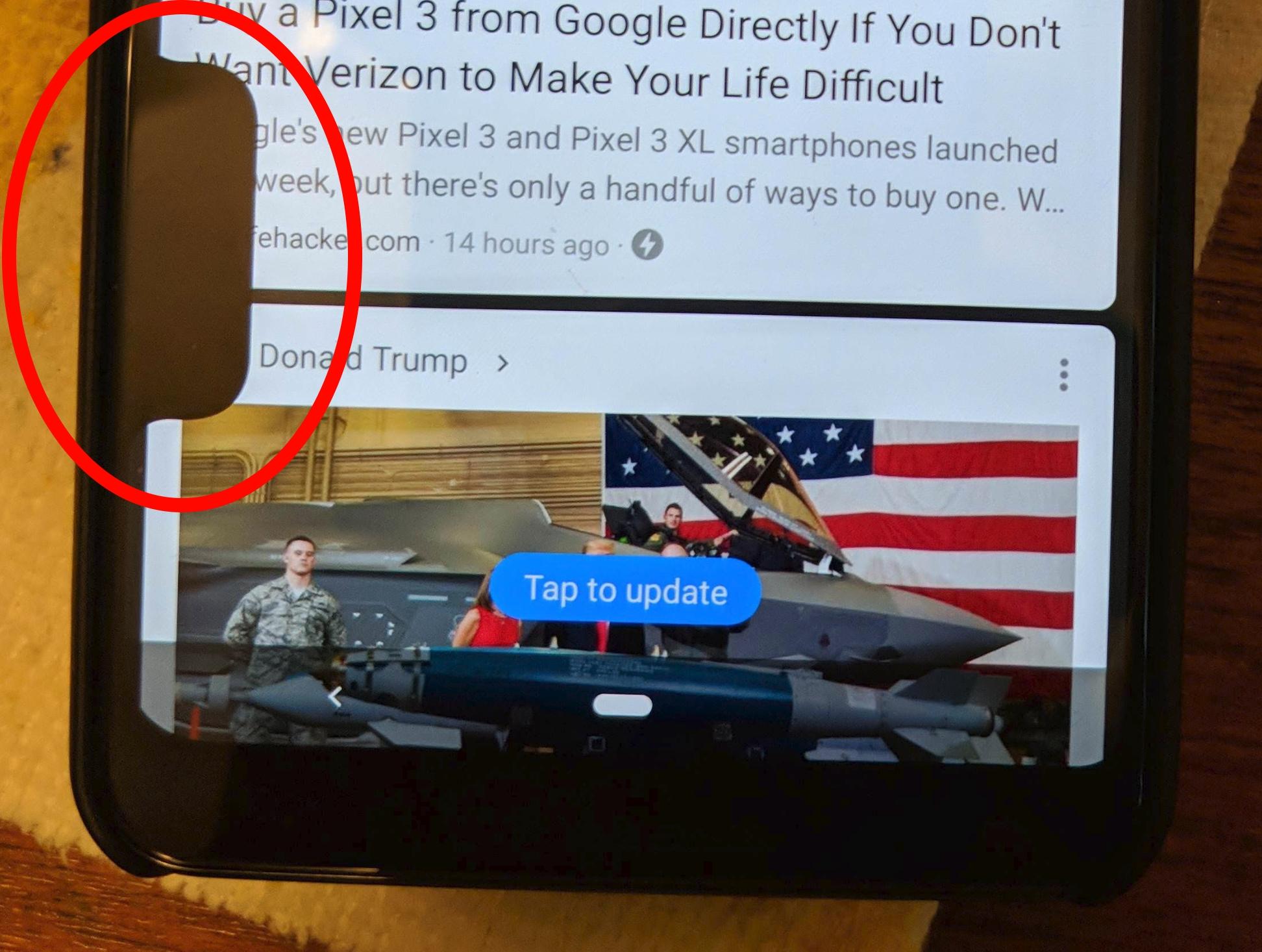 Haha - se, Pixel 3 har fått enda en busslomme!