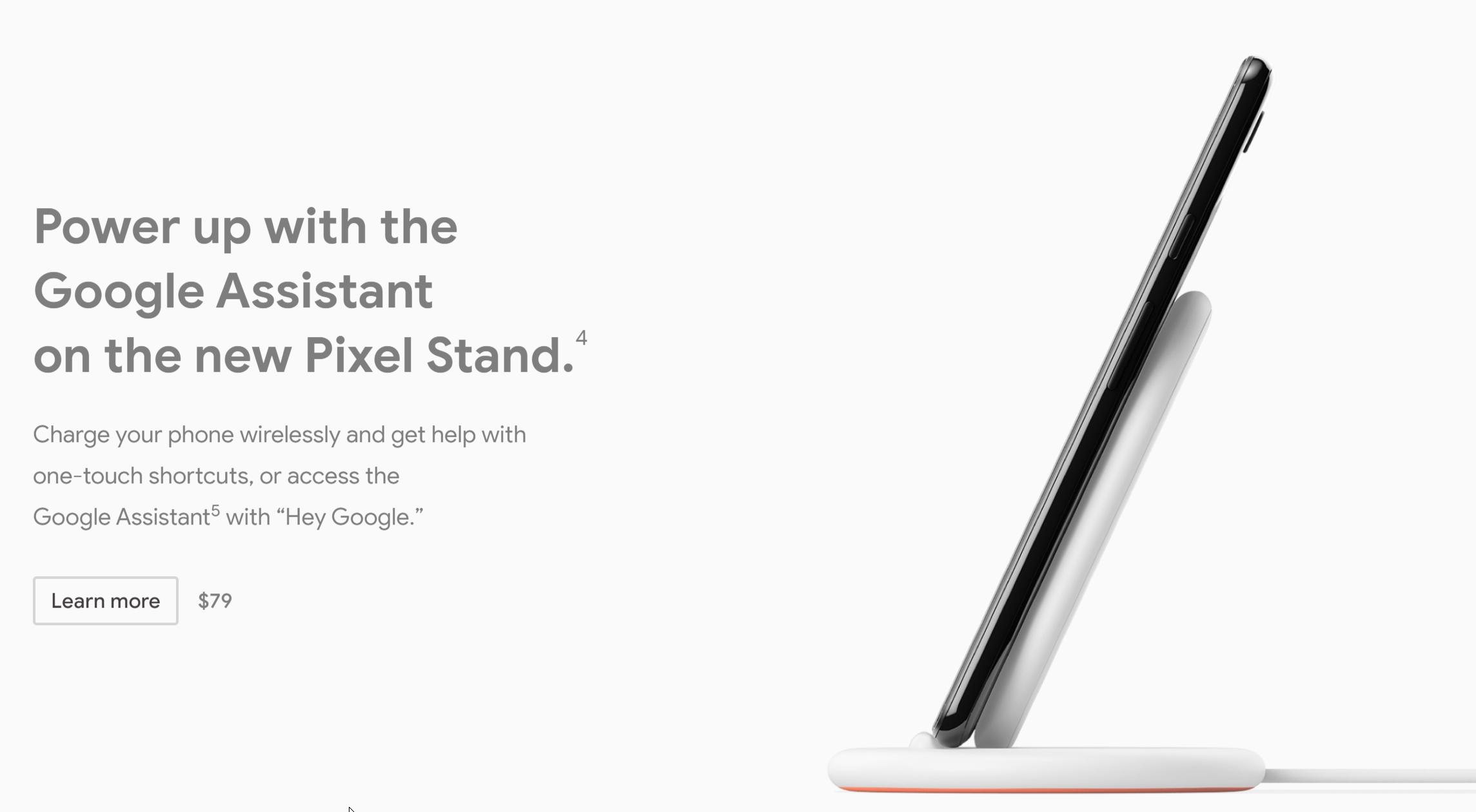 Nye Pixel Stand.