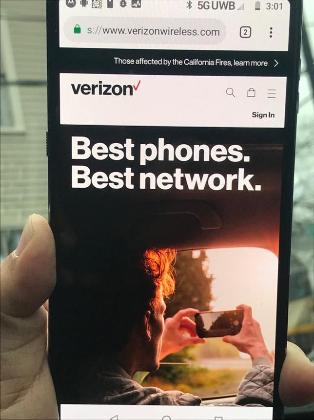 Verdens første 5G mobil