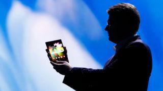 Detaljer om Samsungs brettbare telefon har lekket