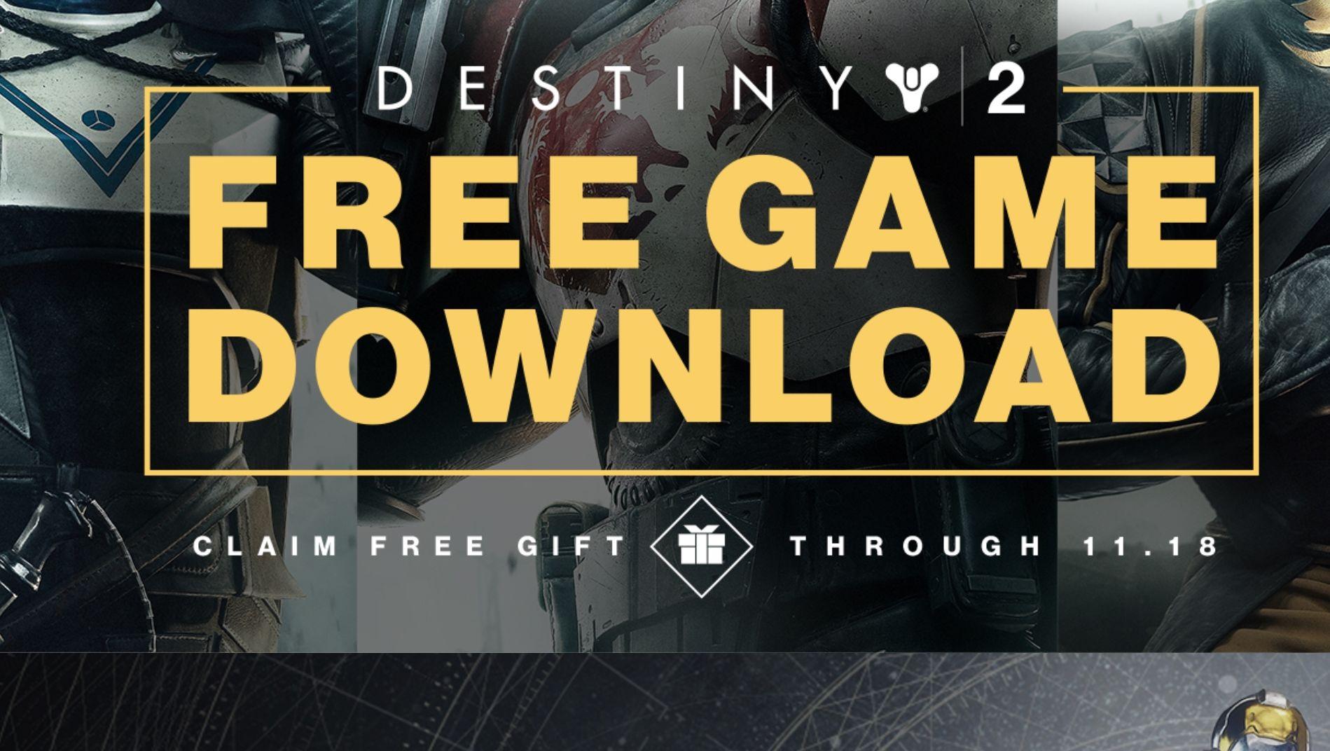 Last ned Destiny 2 helt gratis nå og ei det for alltid