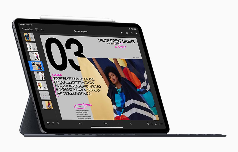 iPad Pro er nesten like rask som en MacBook Pro
