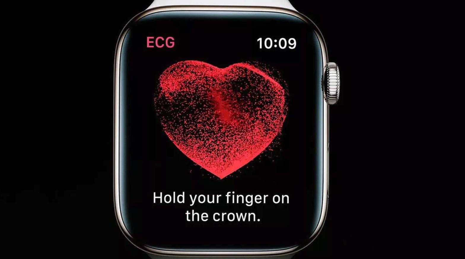 EKG-målinger er ikke mulig å gjennomføre med Apple Watch i Norge.
