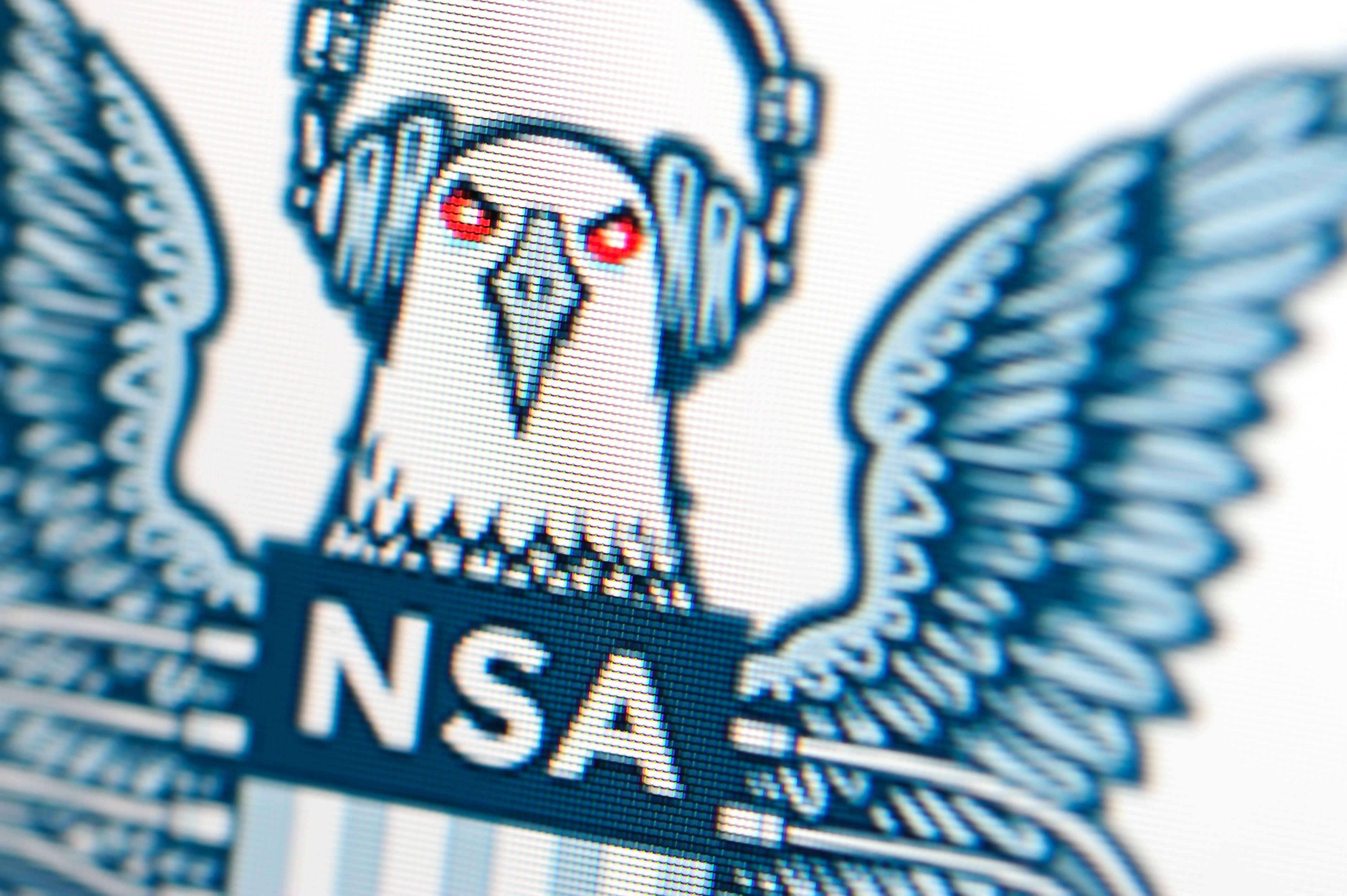 NSA surveillance logo - 17 Jan 2014