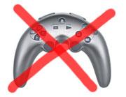 PS3 banan kontroller bort