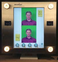 Accenture tjukkas speil