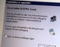 GPRS oppkoblet