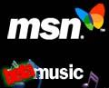 MSN Music logo