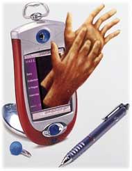 Mobiltelefoni for døve