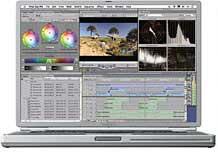 Final Cut Pro 3 skjermbil