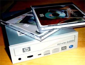 HP dvd-brenner 200i