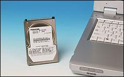 Toshiba 100GB Harddisk