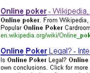 Online poker på Google