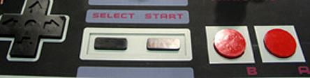 NES spillkontroller