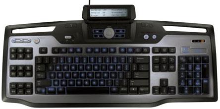 Logitech G15 tastatur toppsakbilde