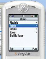 Motorola iTunes mobil
