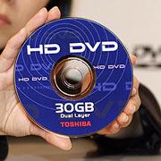 HD-DVD disc