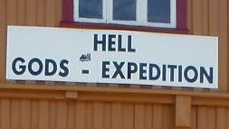 GO TO HELL! ...men ikke via Hell.com.