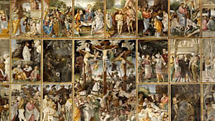 STORT: «Parete Gaudenziana» fyller hele veggen - også i digital form.