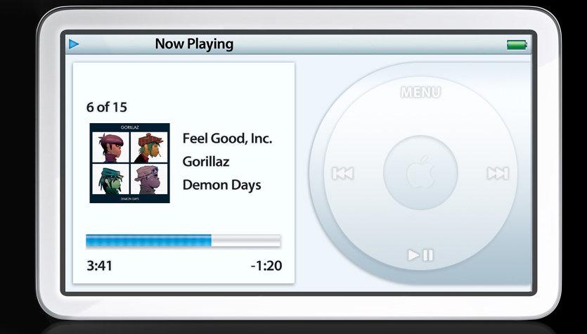 SLIK? Dette er et av mange hjemmesnekrede designforslag til den nye «ekte» video-iPoden.