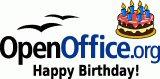 GLEDE: OpenOffice fyller 6 år - og gleder seg over Microsofts avtale med Novell.