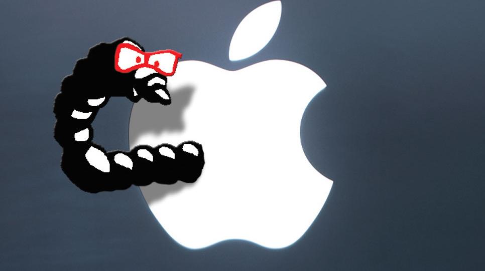 Mac-ormen som ble oppdaget i januar ser nå ut til å ha begynt å gjøre ugagn på nettet.