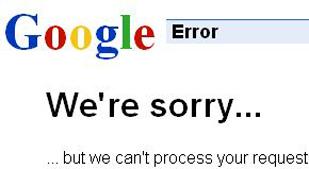 BEKLAGER: Man forventer ikke å få virus i eposter fra Google.