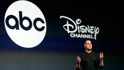 ABCs serier selger meget godt på iTunes Store. Det er gode nyheter for Disney og Steve Jobs som er stor-aksjonær.