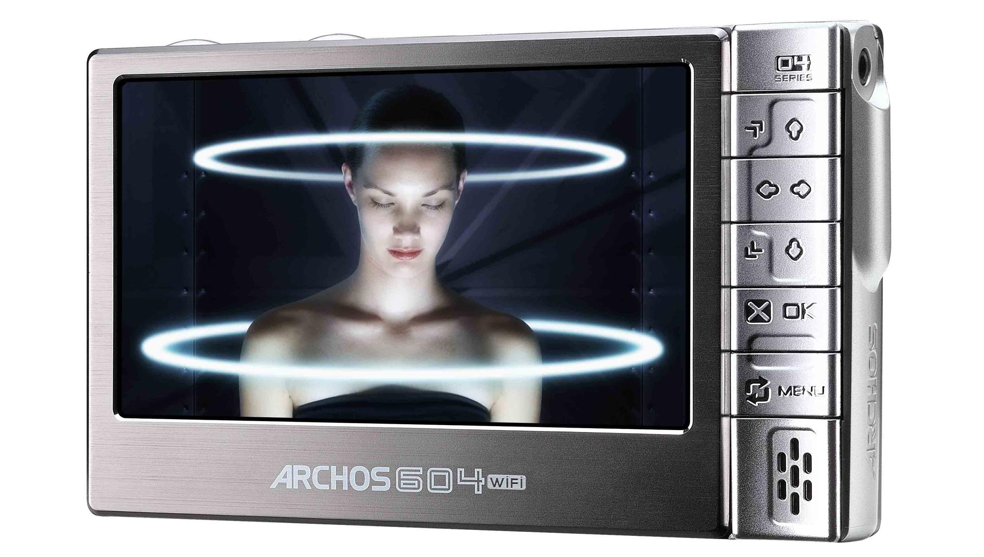 FØLSOMT: Archos 604 har trykkfølsom skjerm og spesialdesignet nettleser fra norske Opera.