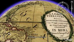 HISTORISK: Google Earth lar deg surfe i fortidens kart.