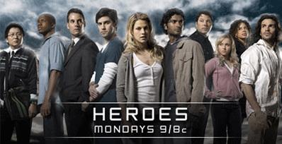 SUPER SERIE: NBCs «Heroes» er en av høstens serier som rett og slett er for bra til at man orker å vente på at den skal dukke opp  på norske sk